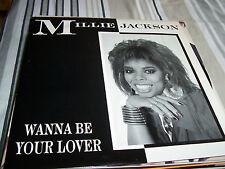 "Millie Jackson - Wanna Be Your Lover  - 12"" Single"