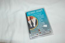New Ultimate Therapy  Black Surgical Support Knee High Stockings  Size L