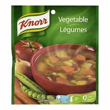Knorr dry Vegetable Soup 6x40 Gr (24 portions) {Imported from Canada}