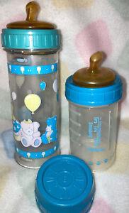 Rare-Vintage Playtex Nursers/Baby Bottles/Original Orthodontic Latex Nipples!!