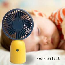 Portable Mini Fan 3 Gears Adjustable Silent Desktop Fan Air Cooler USB Charging