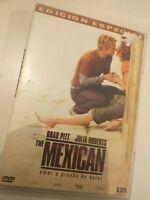 Dvd  the MEXICAN con bratt pitt y julia robert