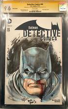 IVAN REIS ORIGINAL Sketch Art SS CGC 9.6 Signed Batman Harley Quinn Joker Comic