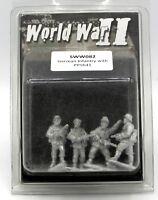 Artizan SWW082 German Infantry with PPSh41 (World War II) WWII Troopers w/ SMGs