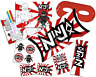 Pre Filled Ninja Warrior Party Box - Karate MMA Camouflage Parties Gift Bags