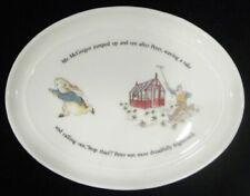 Wedgwood Barlaston Beatrix Potter Peter Rabbit Miniature Platter ~ Rare