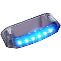 Auto Solar Charger LED Car Burglar Alarm Warning Blue Light Sensor Security 2017