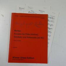 RICHTER sonaten , wiener urtext UT 50189