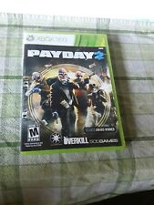 Payday 2 (Microsoft Xbox 360, 2013) video game