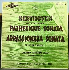 ALFRED  KITCHIN beethoven pathetique sonata LP VG RLP-199-6 Remington US 50s