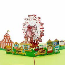 Ferris Wheel & Carnival 3d pop up card