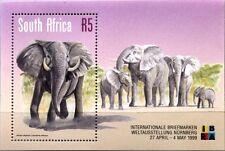 RSA SÜDAFRIKA SOUTH AFRICA 1999 Block 75 IBRA 99 afrik. Elefant Elephant MNH