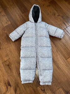 Baby Toddler 18/24 m Boy Girl Columbia Flint Gray Snowsuit Excel. condition!