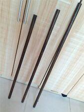 Shaolin Wushu Sticks Black Ebony Hardwood Kung Fu Sticks Hardwood Escrima staff