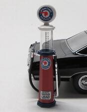 Gas Pump / Tanksäule 1:18 Metall / Pontiac rund / Yat Ming