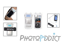 Funda impermeable IPOD IPHONE & DiCAPac WP-MS10 KIT Entregado con auriculares