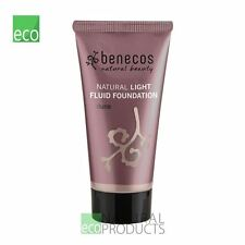 Benecos Natural Light Fluid Foundation Dune 30ml