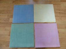 4 Bead Mats - Blue, Yellow, Green & Pink all - 31cm x 31cm