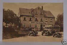 Claußnitz,Gasthof Zum Weißen Roß,Omnibus,Auto`s,tolleAk