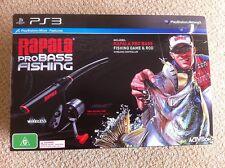 Rapala Pro Bass Fishing With Rod PS3 AUS *BRAND NEW!*
