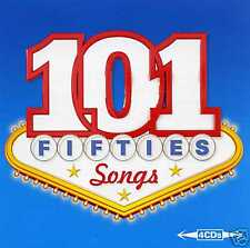 101 FIFTIES SONGS - ALMA COGAN GUY MITCHELL KAY STARR PEGGY LEE - 4 CDS - NEW!