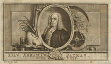 Abraham Patras, Governor-General of the Dutch East Indies 1735-1737 1763 print