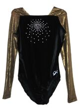 GK Elite Gymnastics Leotard - Velvet - as Adult Small