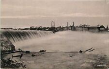 C-1905 Dam Falls Factory Industry HOLYOKE MA Fitzgerald Undivided 1644 postcard