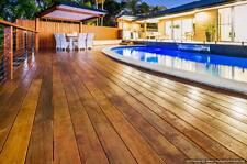 Terrassendielen 25x170mm Garapa glatt/glatt kammergetrocknet Barfußdiele NEU,315