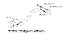 KAKIMOTO RACING EXHAUST HYPER GT BOX REV. FOR HONDA STREAM RN8 RN6 H41372