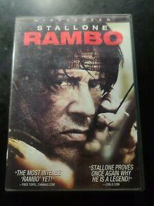 Rambo (DVD, 2008, Canadian Widescreen)