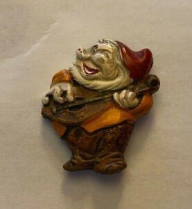 Snow White Seven Dwarfs Vintage 1938 Happy Pin