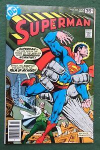 Superman #325 DC Comics Bronze Age Clark Kent Kryptonite Krypton Lois g/vg l3