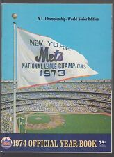 New York Mets 1974 Official Team Yearbook