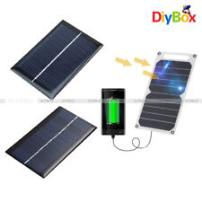 0.5/5/6V 0.6/1/10W 100mA Epoxy Cell Photovoltaic Battery Charger Solar Panel