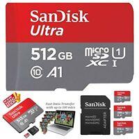 SanDisk ULTRA micro SD Speicherkarte 512GB 128GB 256GB SDXC memory card