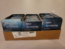 Magic The Gathering Kaldheim Draft Booster Bundle - 36 Packs (Box tops removed)