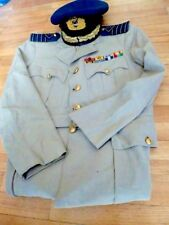 UNIQUE VINTAGE GREEK ROYAL AIR-FORCE SUPREME OFFICER UNIFORM FROM EARLY 70s