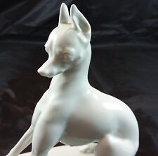 ROSENTHAL-MINIATURE PINSCHER- MIN PIN -  BY  T. KARNER  - 1921-22 -  DOG - WHITE