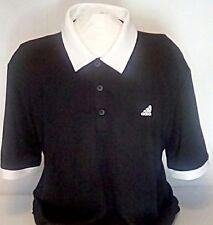 adidas XL Men's Polo Black Golf Shirt UPC 191037641820