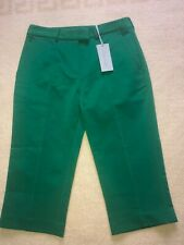 NEW WITH TAGS CALVIN KLEIN GREEN TROUSERS SIZE SMALL (36)