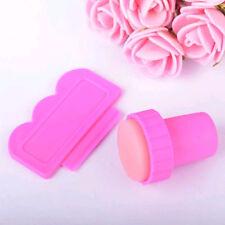 Stempel Scraper Set Nail Art Stamping Schaber Nagelstempel rosa