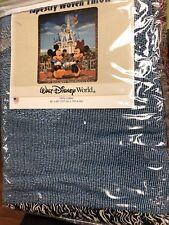 BRAND NEW Walt Disney World Mickey & Minnie Tapestry Throw
