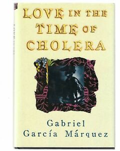 Gabriel Garcia Marquez LOVE IN THE TIME OF CHOLERA 1st US/1st SIGNED Nobel Prize