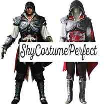New Assassin's Creed II Ezio Auditore da Firenze Cosplay Costume A+ FREE SHIP