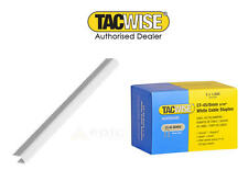 blanco 5000 x 8mm TACWISE CT45 (28 TIPO ) Cable costuras Grapas (0.8cm) 0980