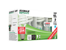 FEIT Electric  ECOBULB  CFL Bulb  13 watts 900 lumens 2 in. L Soft White  4 pk