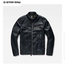 G STAR Tondeuse GPL PU Homme Veste Taille S * Marine * * neuf avec étiquettes * RRP £ 160