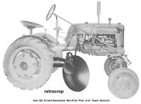 McCormick CUB-152 Manual Farmall Cub Belly Mid Mount Disc Turning Plow IH