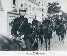 1959 Actor Gerard Philipe in The Grand Maneuver Press Photo